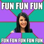 Rebecca Black: Fun Fun Fun Fun